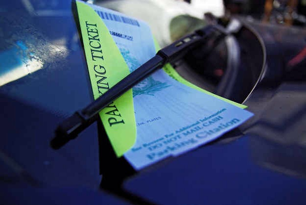 If you are having trouble finding parking near the beach, you could save one of your old parking tickets and use it on your windshield to avoid getting a new one