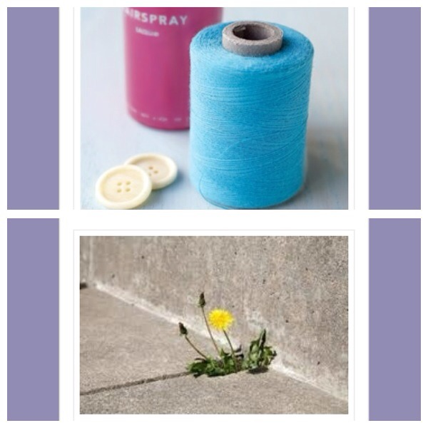3. Use hairspray on the end of your sewing thread to help it slide through the eye of the needle 4. Sprinkle salt in the spaces between patio slabs at the bottom of the walls to get rid of pesky weeds