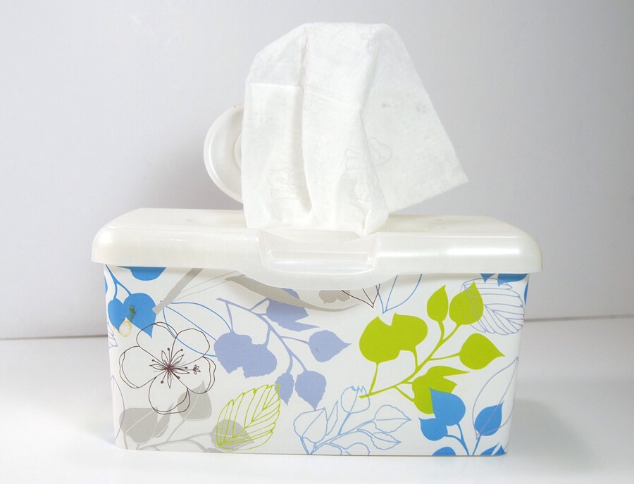 Have a box of baby wipes next to your bed to remove your make up.