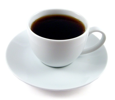To get your coffee fix, add in some strongly brewed black coffee. You can also opt for decaf!