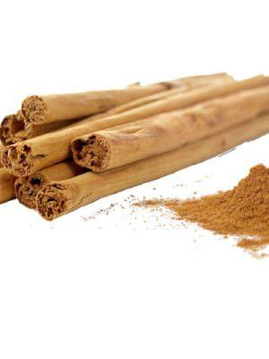4. Cinnamon Cinnamon contains anti-bacterial and anti-fungal properties, as well as a natural grittiness that helps clear out clogged pores. (Translation: It's great for battling breakouts.)
