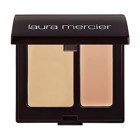 With one shade to act as a match for the depth of your skin tone and the other to match the undertone, this duo provides eight-hour coverage. Apply it after foundation and you're ready to go. Laura Mercier Secret Camouflage, $32, Sephora