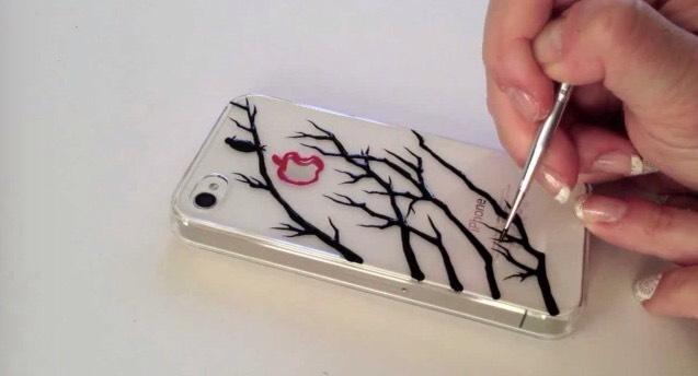 17. Tree phone case