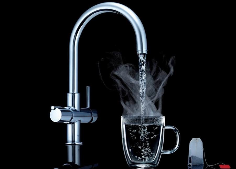 Hot water opens up your pores and lets germs in.