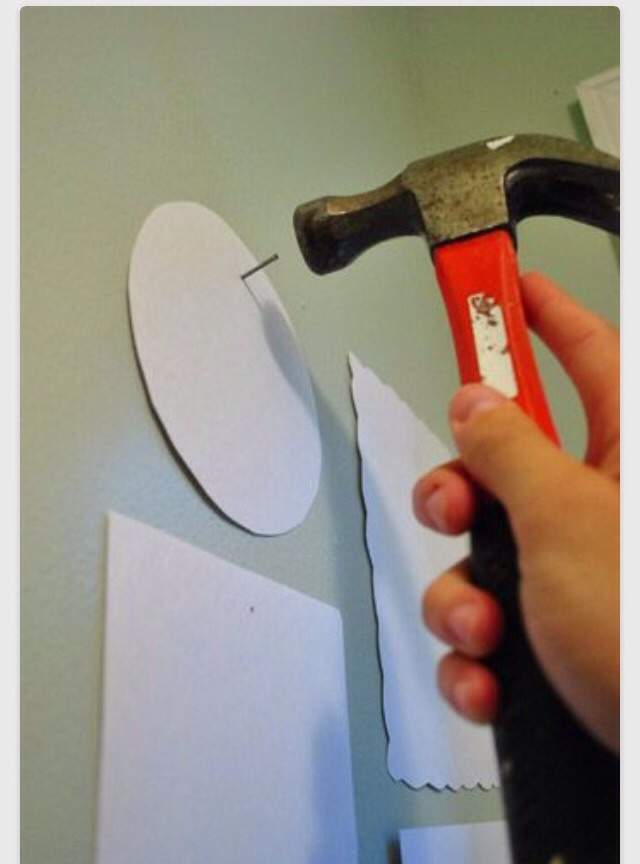 If you do this,you know if they fit and look good also if you keep the paper there it will stop scratches on the wall