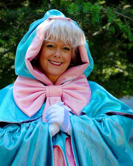 Fairy Godmother Found behind the castle.