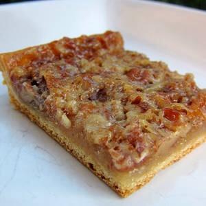 Pecan Bars: http://www.chef-in-training.com/2013/04/cake-batter-crumb-crispies/