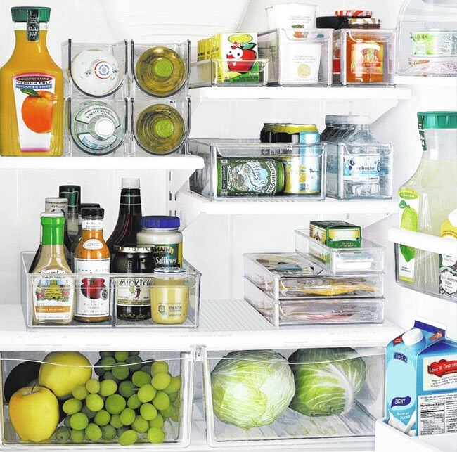 Clean your fridge (optional). If you still have some energy, why not clean out your fridge, too?