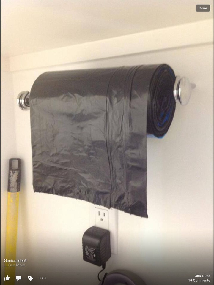 Easy way to get ur trash bags easy and on time