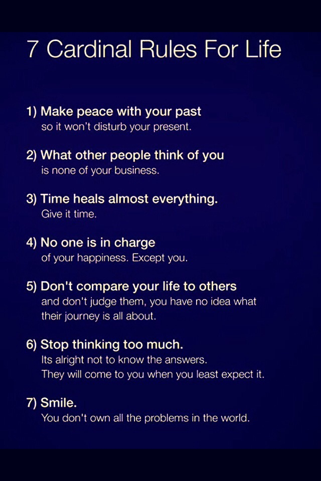 To live by