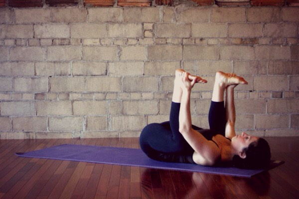 """TheresaPolley, host + instructor atRetreat in the Pinessays this makes it perfect for hip opening, as well as other areas. In fact, this pose is often also called """"Happy Husband."""""""