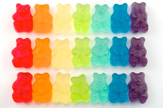 Portion out that bag of gummi bears so you don't eat the whole thing.
