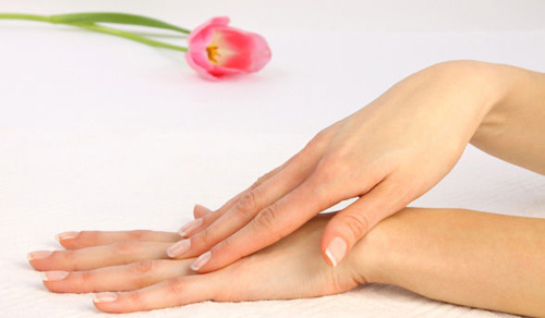 the quick and easy way to get silky, princess-like hands :)
