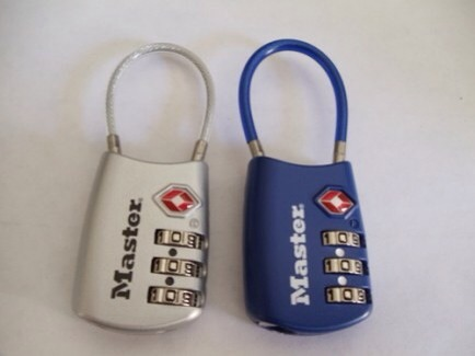 TSA Luggage Locks  When locking your checked bags, it's always recommended that you use a lock. If you use a regular lock, you are at risk of having that lock cut off during the security screening process and you won't be reimbursed.