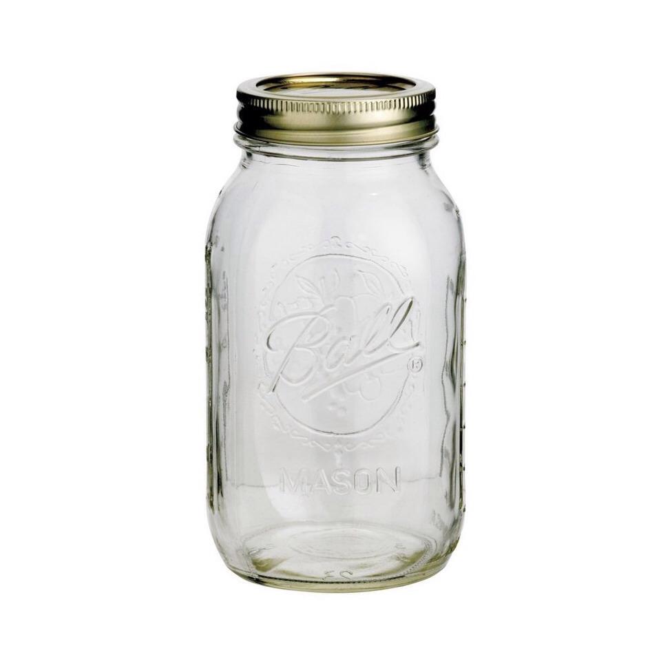Take a regular mason jar