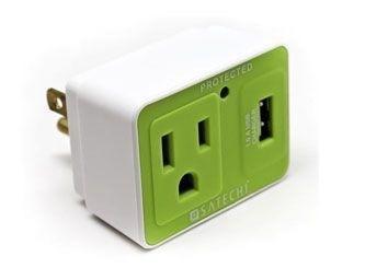 Satechi Compact USB Surge Protecter, genius!!!