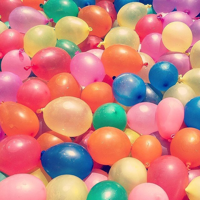 7. Have a water balloon fight
