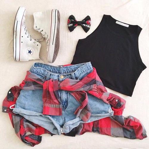 Converse outfit 😏💕