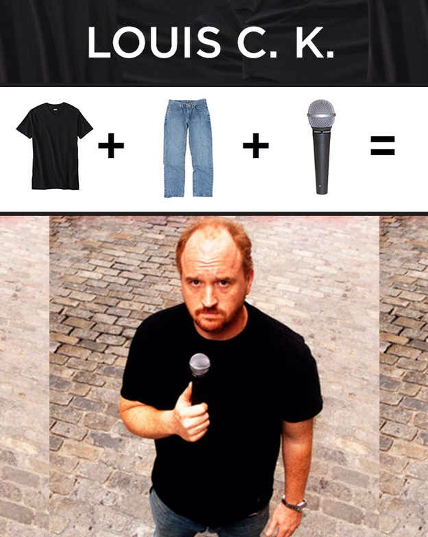 T-shirt: Target Dad Jeans: Target Microphone: Target Please tap for full view.