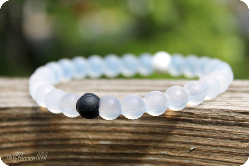 Lokai Bracelet - white bead has the water from Mt. Everest and the black bead has mud from the dead sea, a cute accessory for a good cause