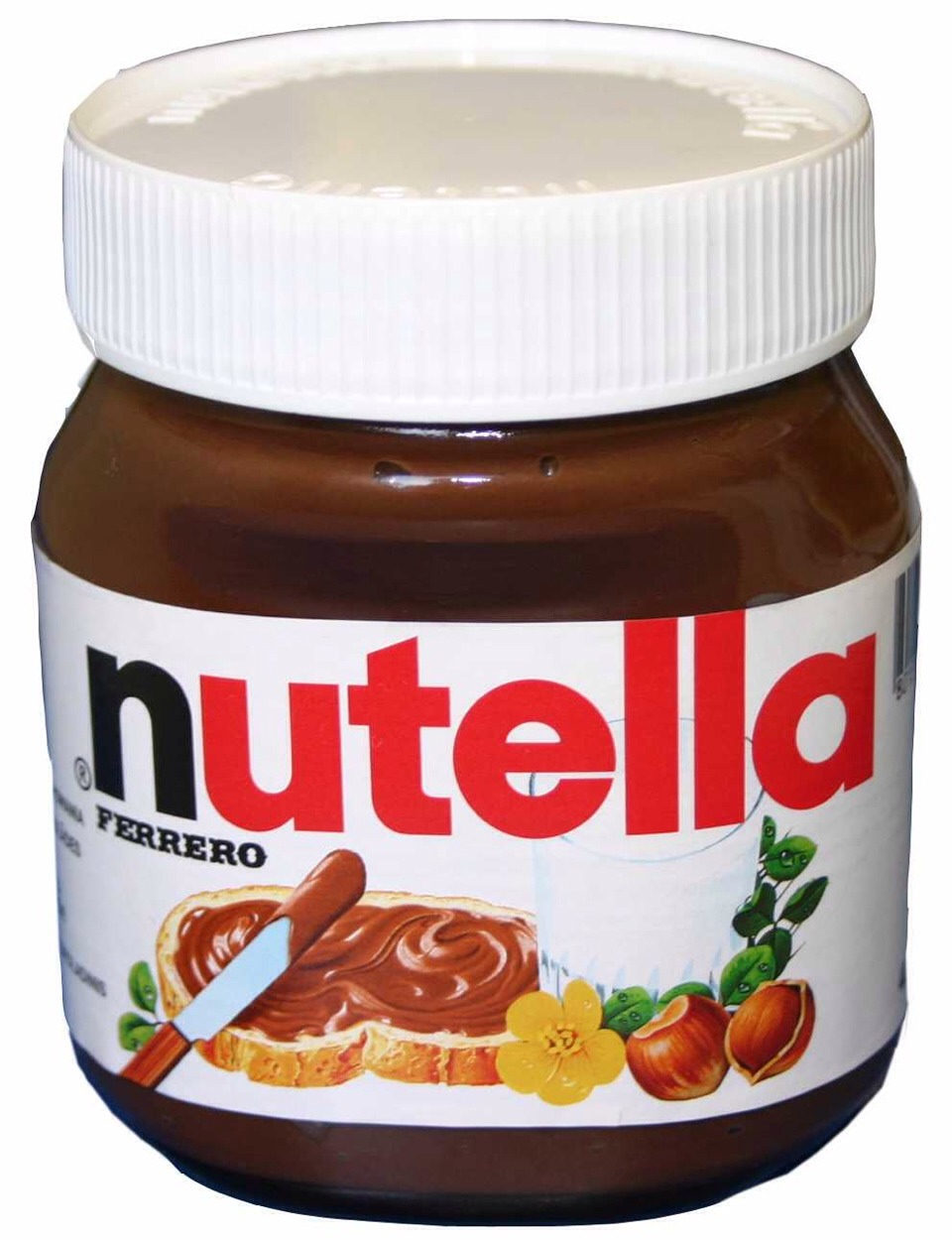 Dip into a bowl of Nutella :)