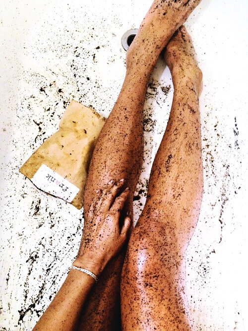 When you finish up shaving put on your body scrub! this will make your legs a lot softer and it will make your shave last longer.