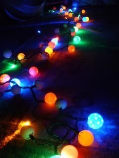 Cool ping pong balls