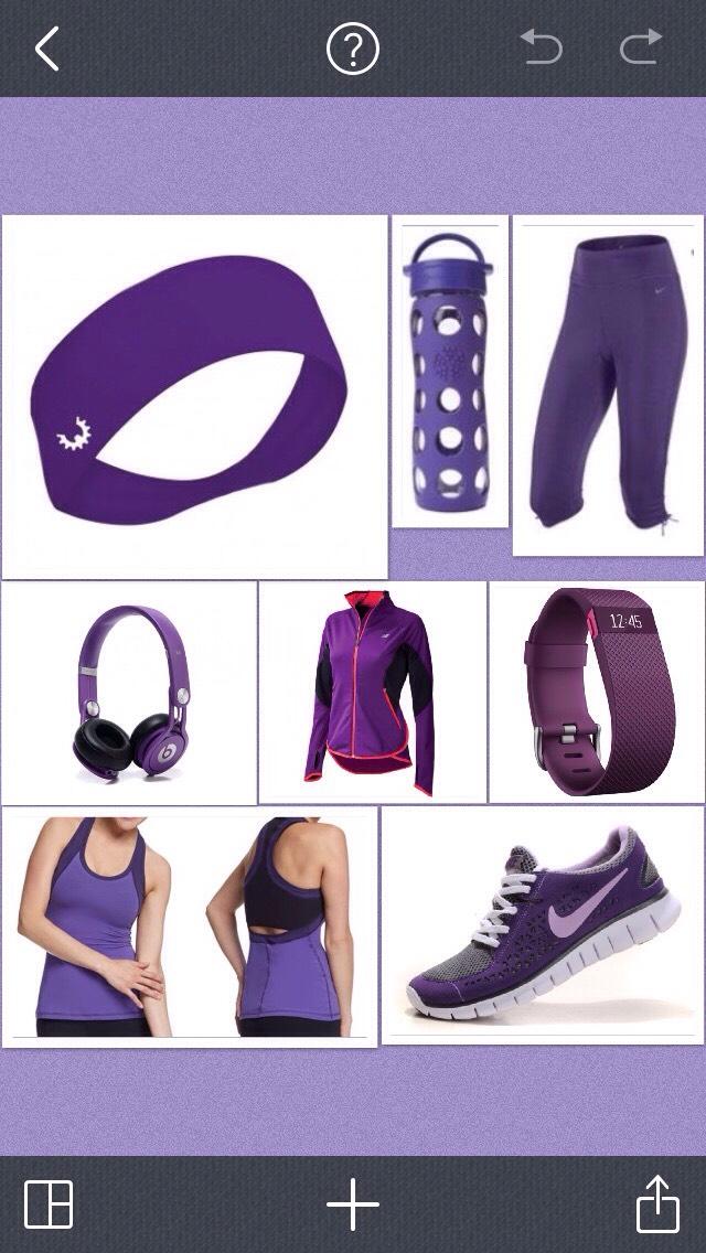Purple gym
