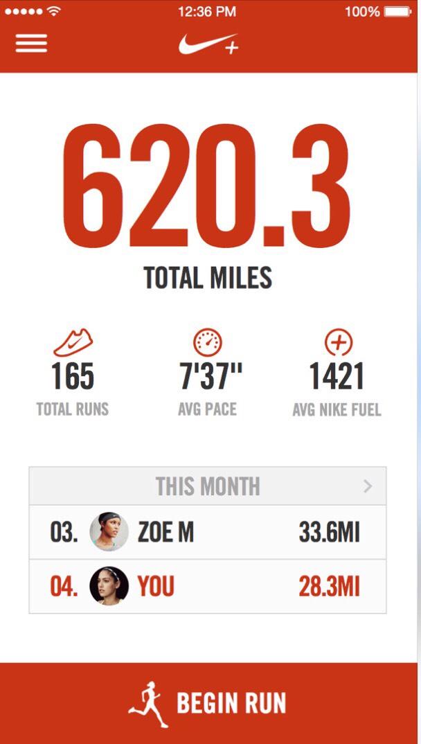 Nike+ Running!