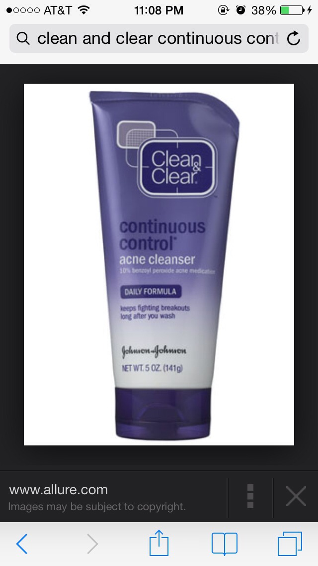 After my face is rinsed and damp, I use a pea size amount of this cleanser and rub over my face. I rub in circles for around 15 seconds. Then I rinse off with warm water slowly adding more cold water. Then I pat dry my face with a hand towel or wash cloth.