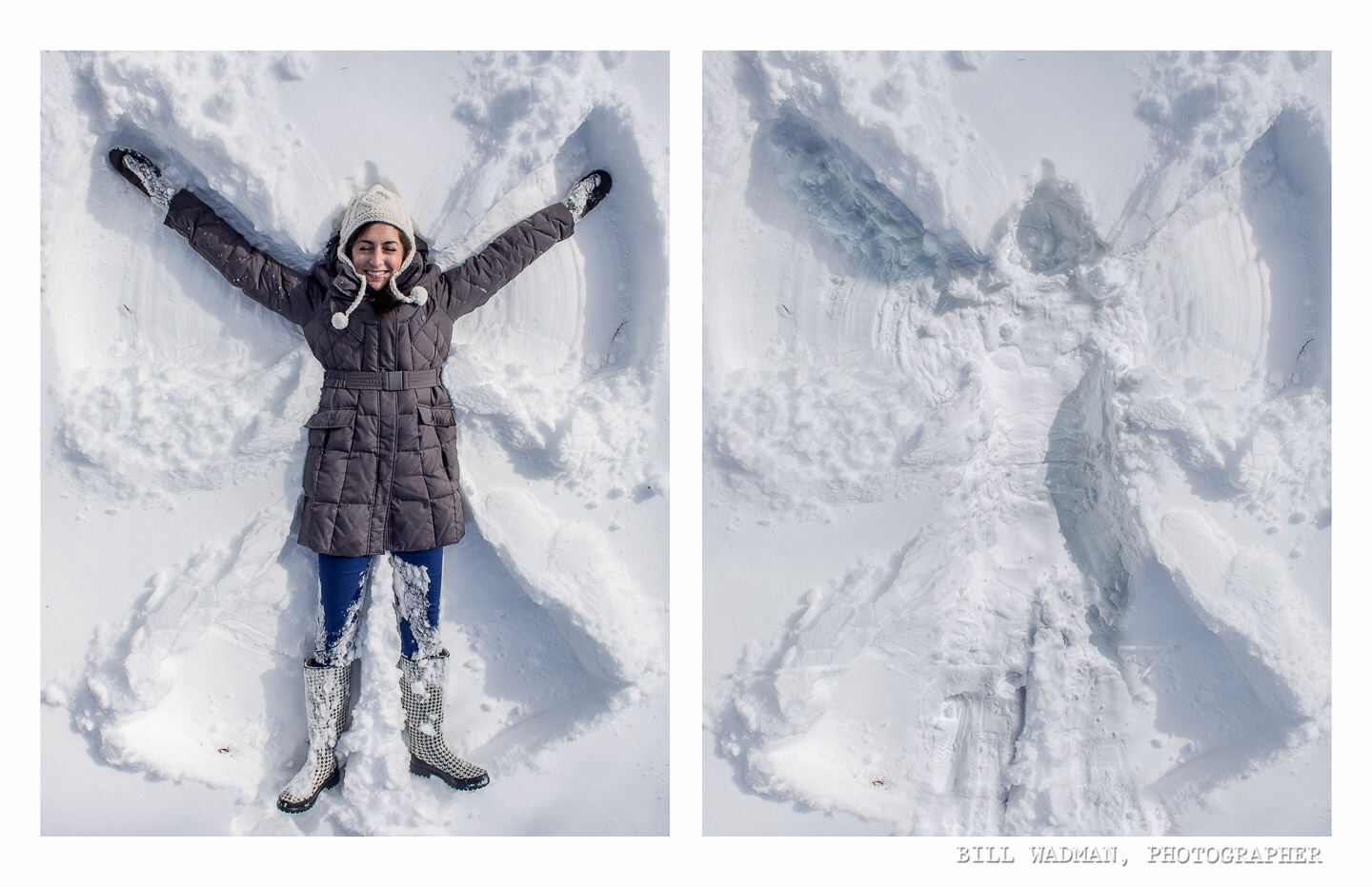 4.) snow angels are fun! And cool to look at when your done!