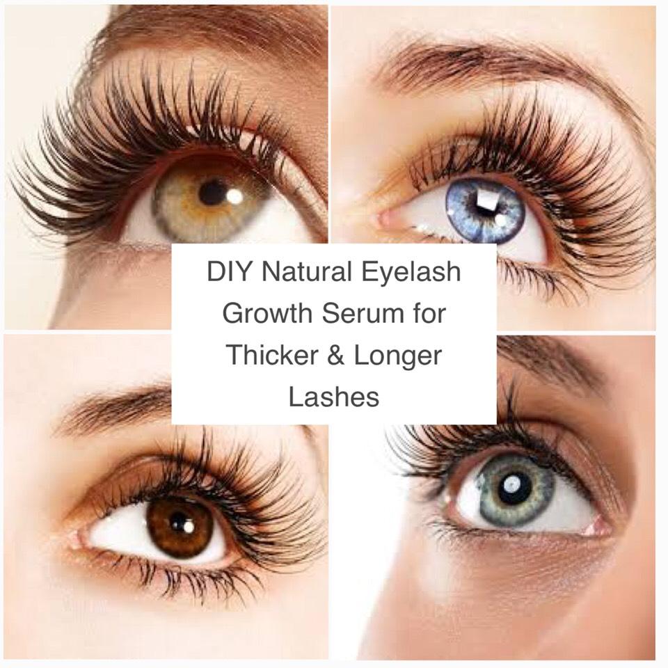 Diy Natural Eyelash Growth Serum Made W Castor Coconut Sweet