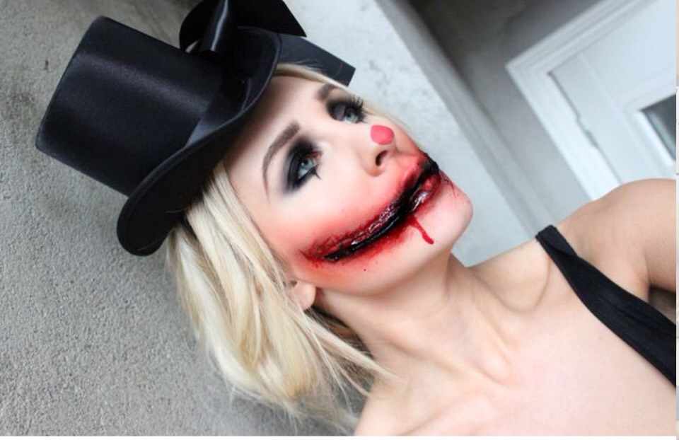 enjoy this creepy selection of halloween makeup tutorials i picked out which would also be - Halloween Makeup For Beginners