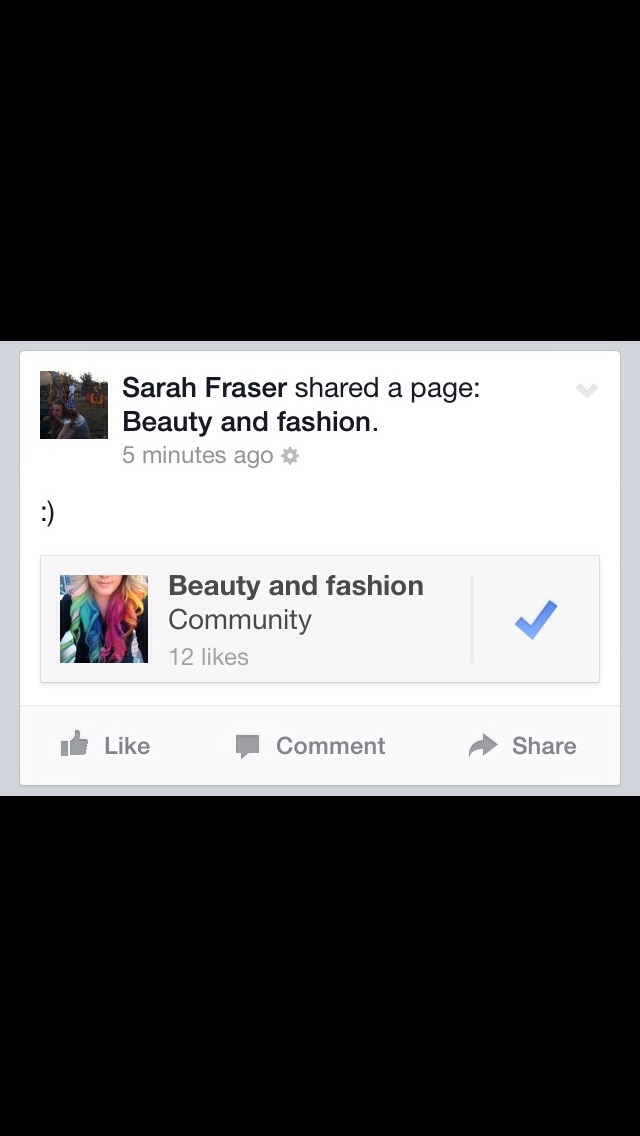 If you have Facebook go like our page it would mean alot💕