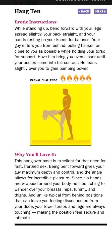 Erotic Instructions