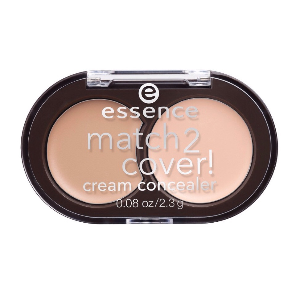Use one shade at a time or combine the two together depending on your skin tone. We love this one for transitioning from summer into fall.  Essence Match 2 Cover!  Cream Concealer, $3.49, Ulta