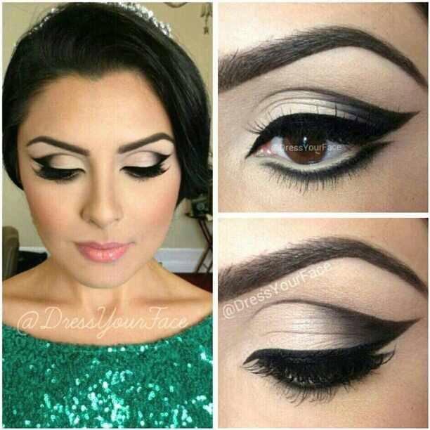 Праздничный макияж глаз советы как сделать и фото
