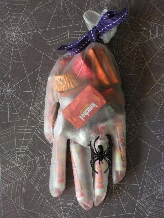 12. Surgical Glove Party Favors