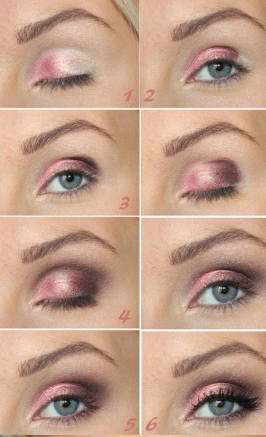 Also try using pinks!