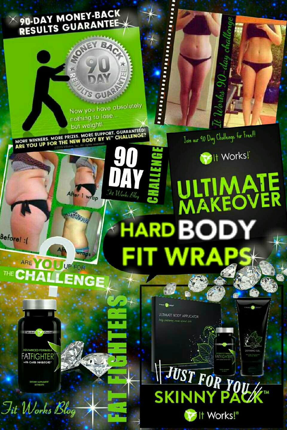 GET WRAP FIT  12 wraps 12 weeks  Only $59/month as a  LOYAL CUSTOMER