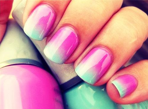#4 ombre nails