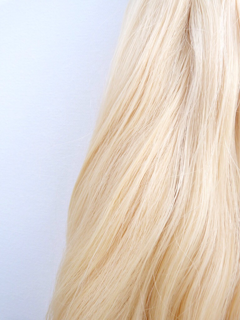 Platinum blonde for 2014 is best worn as one solid shade and not accompanied with any highlights