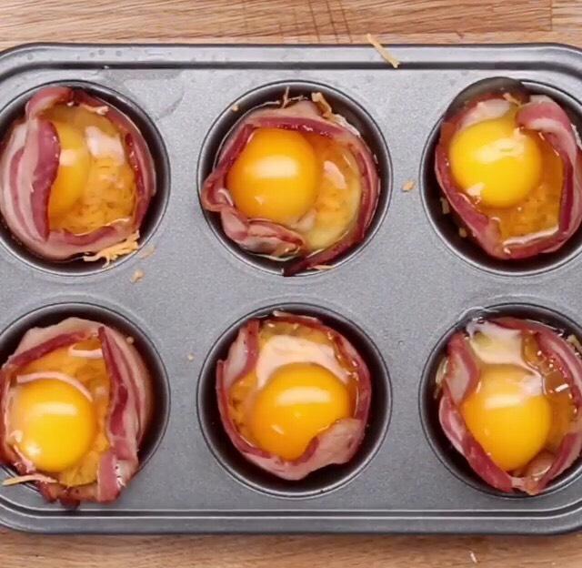 Add a raw egg