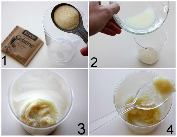 💁 Milk + Gelatin = DIY Pore Strip for removing blackheads 💃
