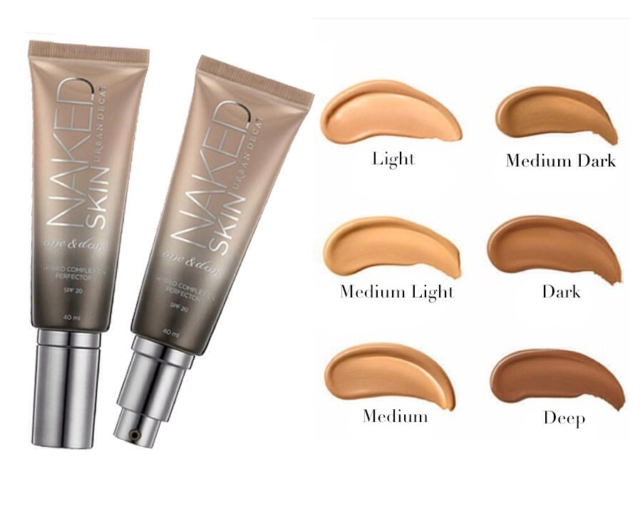 Urban Decay Naked Skin One & Done Hybrid Complexion Perfector |$34 >>6 SHADES