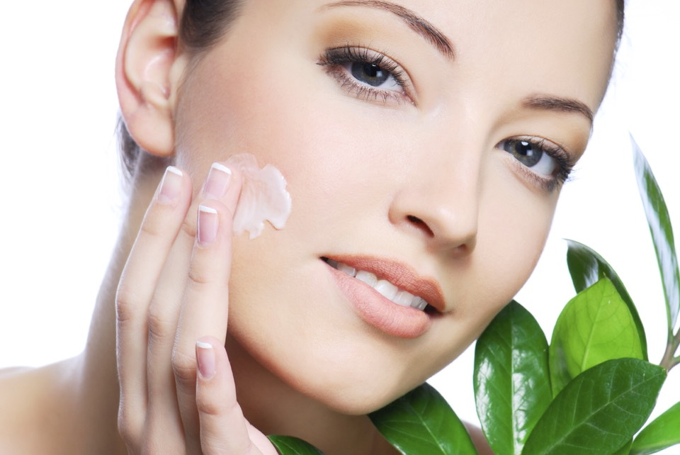 add a small amount of moisturiser before foundation