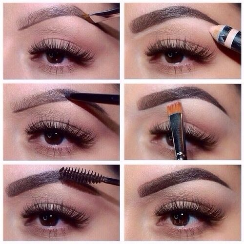Use whatever product you are comfortable with, an eyebrow pencil, eye shadows anything! But always remember to outline your brows 😊