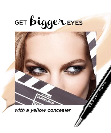 Using concealer is a great way to make your eyes stand out. For best results, use a yellow-toned concealer, which will brighten your eyes by making under eye circles.