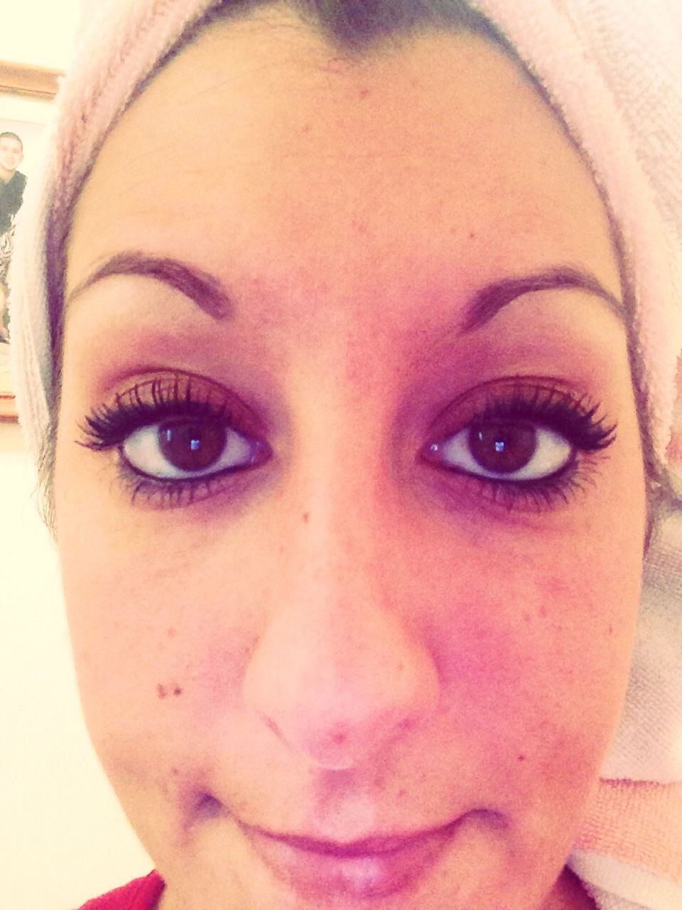 Heres how your lashes will look after trying my tip :). Enjoy❤️