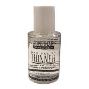 18. Use nail polish thinner (NOT nail polish remover!) to revive thick, goopy bottles of nail polish.
